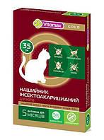 Vitomax Gold 35 см ошейник от блох и клещей для кошек