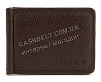 Мужской кошелек с зажимом для денег FUERDANNI art. 4518коричневый
