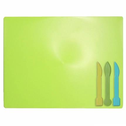 Дошка для пластиліна КОЗЛОВ 51007 мала (22х15см) + 2 стека (1/200), фото 2