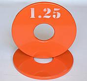 Диск олимпийский металлический 1.25 кг