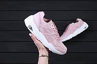 Стильные и яркие женские кроссовки Puma Trinomic R698 Soft Pack Pink  Реплика / 1:1 к оригиналу