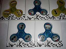 Спиннер - игрушка антистресс Фосфор цвета в ассортименте