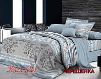 Семейный набор хлопкового постельного белья из Сатина №18 KRISPOL™