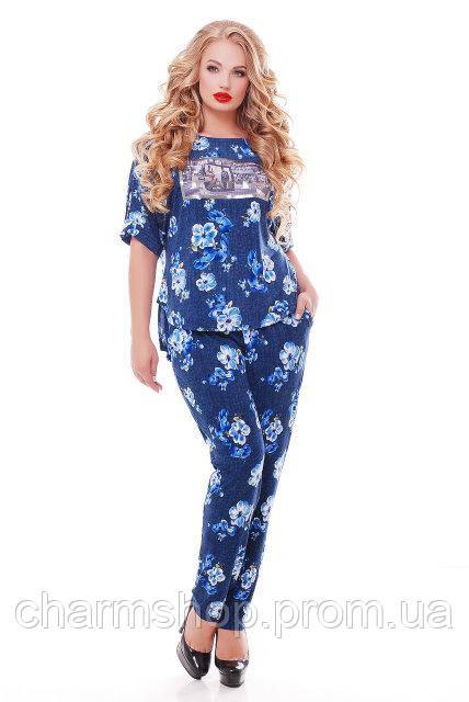 51d2e6ea4cf Женские брючные костюмы больших размеров  продажа