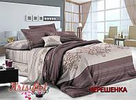 Семейный набор хлопкового постельного белья из Сатина №136 KRISPOL™