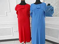 Платье летнее нарядное шифон большого размера