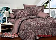Семейный набор хлопкового постельного белья из Сатина №3991AB KRISPOL™