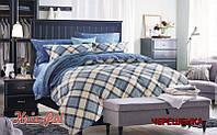Семейный набор хлопкового постельного белья из Сатина №6971 KRISPOL™