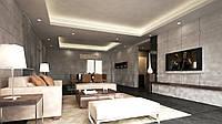 Дизайн-проект интерьера - гостиная FZ