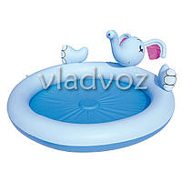 Детский надувной бассейн слоник с фонтанчиком Bestway 53034