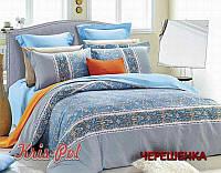 Семейный набор хлопкового постельного белья из Сатина №13110003 KRISPOL™