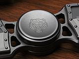 Дизайнерский спиннер Hand Fidget Spinner «Крест Тамплиера» серебро, фото 2