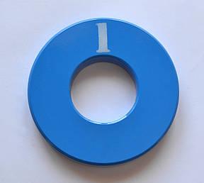 Диск олимпийский металлический 1 кг, фото 2