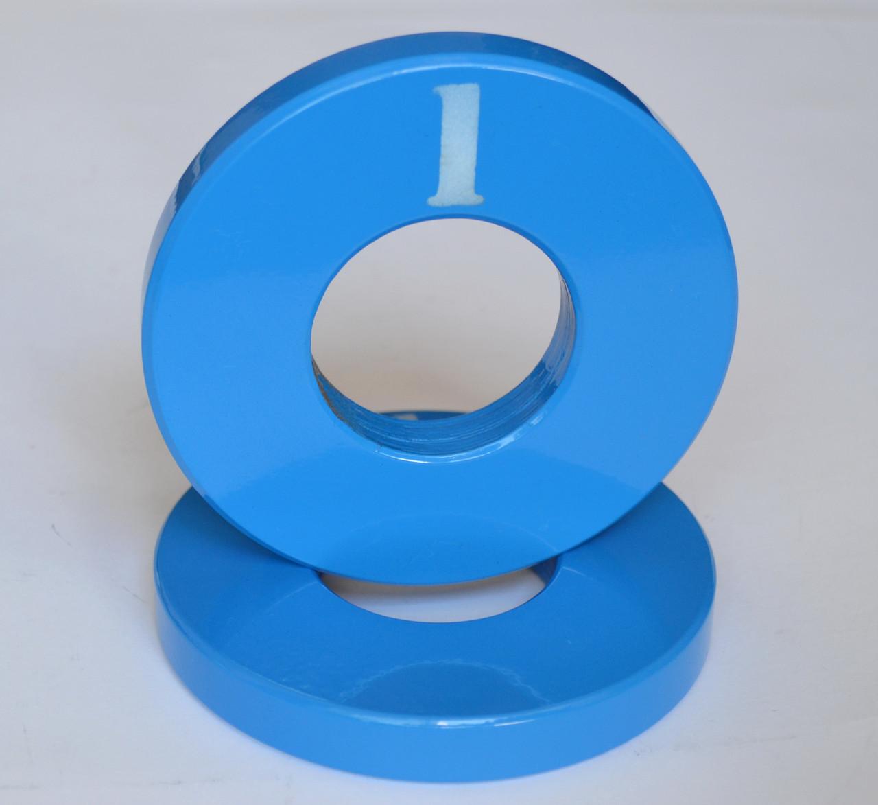 Диск олимпийский металлический 1 кг