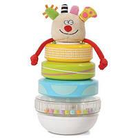 Развивающая игрушка - ПИРАМИДКА КУКИ для детей с 9 месяцев ТМ Taf Toys 11365