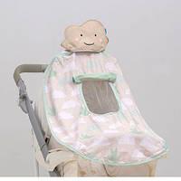 Развивающая игрушка для коляски и автокресла - ТЕНИСТЫЙ ПОЛДЕНЬ (UPF 50+, защита от UVA/UVB лучей) ТМ Taf Toys 11965