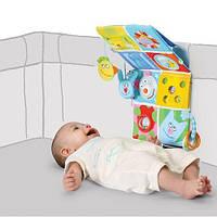 Развивающий центр для кроватки - ВЕСЕЛЫЕ ДРУЗЬЯ для детей с рождения (звук, свет) ТМ Taf Toys 11655