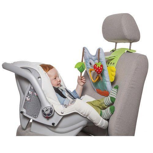 Розвиваючий центр для автомобіля - МУЗИЧНА СОВА (звук, світло, батьківський контроль) ТМ Taf Toys 11815