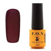 Гель-лак F.O.X  6 мл pigment №091 (итальянская слива)