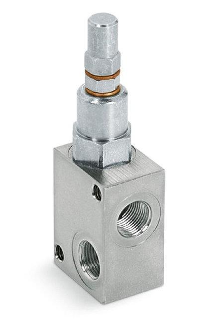 """Клапан запобіжний VMP 1/2"""" 10-180 BAR (Італія)"""