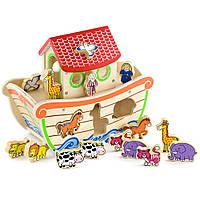 Игрушка сортер Ноев ковчег Viga toys (50345)