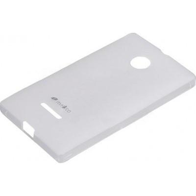 Чехол Melkco Microsoft Lumia 435 Poly Jacket TPU Transparent (NKLU43TULT2TSMT)