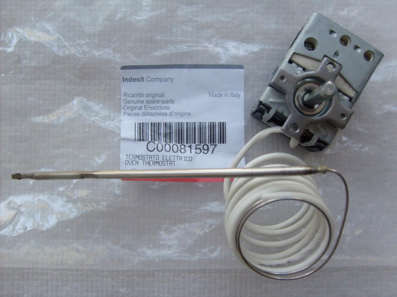 Термостат духовки Indesit C00081597