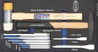 Набор молотков и ударно-режущего инструмента Licota 10 пр. EVA ACK-E38303 (ACK-E38303)