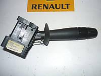 Подрулевой переключатель поворотов левый (без ПТФ) Renault Master / Movano 03> (VALEO 8200199519)