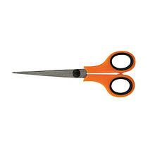 Ножницы канцелярские 17см Delta 6215, оранжевые