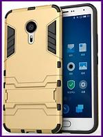 Противоударный бампер для Meizu note m3 (GOLD)