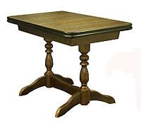 Раскладной обеденный стол из натуральной древесины. Модель СТ-7.1 (110). Скиф