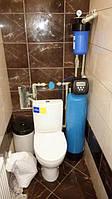 Установка системы очистки воды в санузле (квартира, г. Васильков)