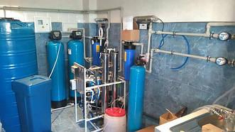 Станция разлива питьевой воды