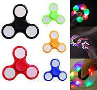 Игрушка-антистресс | Спиннер (Fidget spinner) с LED подсветкой
