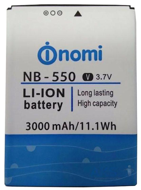 Аккумулятор Nomi i550 Space   NB-550 (3000 mAh) Original - интернет- c467ca4353759