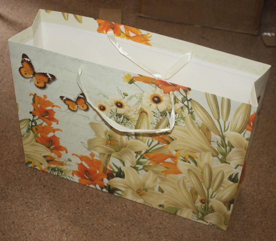 Пакет подарочный 033-1. 55х40см