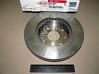 Диск тормозной передний (производитель Mobis) KDX743325X