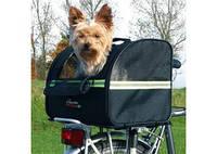 TRIXIE Сумка-перевозка велосипедная для собак, чёрный, 35x28x29см