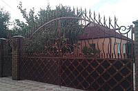 Кованные ворота 2350.
