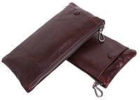Мужской кожаный портмоне из натуральной кожи LA8015-2DBL коричневый