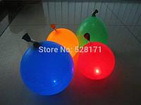 Воздушные  светящиеся шары LED - уп. 5 шт.