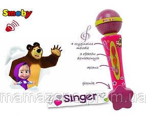 Музыкальный инструмент Микрофон детский Маша и Медведь Smoby 520100