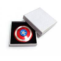 Металличекий спиннер Капитан Америка