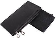 Оригинальный мужской кожаный портмоне из натуральной кожи LA9852-2BL черный