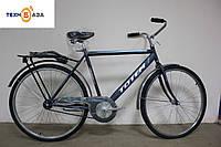 """Велосипед Crossride Comfort 28"""" М Серый"""