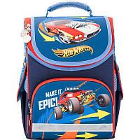 Ранец школьный каркасный  для мальчика Hot Wheels-1