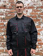 """Куртка рабочая """"Атлант"""" черная, спецодежда"""