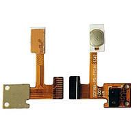 Шлейф для Lenovo S650 кнопка включения, датчик освещения/приближения