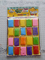 Детский пластилин разные цвета тесто для лепки